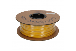 Feliratozható PVC cső kerek BA-30Z, 3 mm, 200 m, sárga