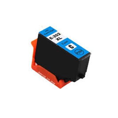 Epson 202XL T02H2 cián (cyan) kompatibilis tintapatron
