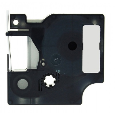 Dymo 1805422, 19mm x 5, 5m fehér nyomtatás / vörös alapon, vinyl, kompatibilis szalag