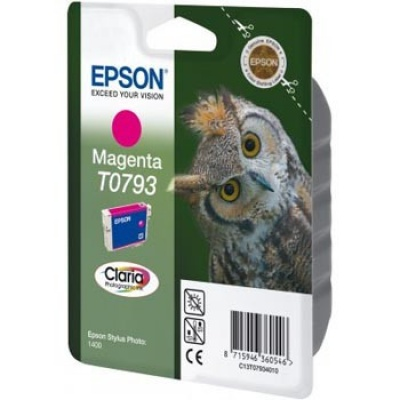 Epson C13T079340 bíborvörös (magenta) eredeti tintapatron