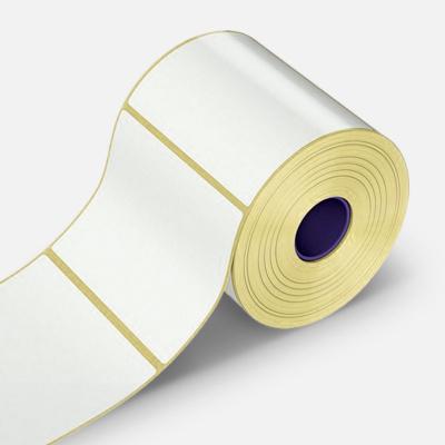 Öntapadós címkék 80x20 mm, 2000 db, papír, TTR, tekercs