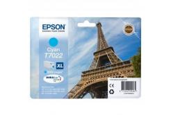 Epson T70224010 cián (cyan) eredeti tintapatron