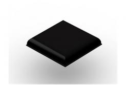 3M Bumpon SJ5705 fekete, plató = 9 db