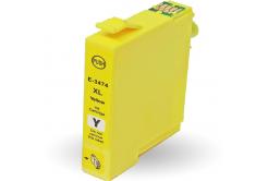 Epson T3474 sárga (yellow) kompatibilis tintapatron