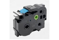 Brother TZ-FX263 / TZe-FX263, 36mm x 8m, flexi, kék nyomtatás / fehér alapon, kompatibilis szalag
