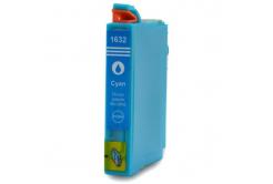 Epson T1632 XL cián (cyan) kompatibilis tintapatron