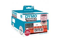 Dymo 1933088, 102mm x 59mm, fehér, polypropylen, eredeti szalag