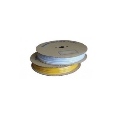 Feliratozható PVC cső H-10, csillag alakú, belső átmérő 3,0mm / keresztmetszet 1mm2, fehér, 120m