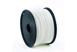GEMBIRD filament ABS, 1,75mm, 1kg, fehér