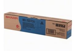 Sharp MX-70GTCA cián (cyan) eredeti toner