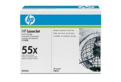 HP 55X CE255X fekete (black) eredeti toner