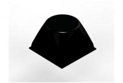 3M Bumpon SJ5514 fekete, plató = 4 db