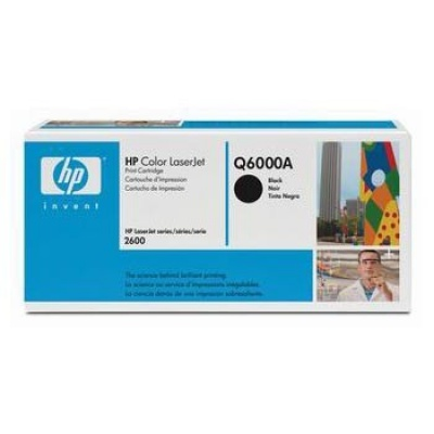 HP 124A Q6000A fekete (black) eredeti toner