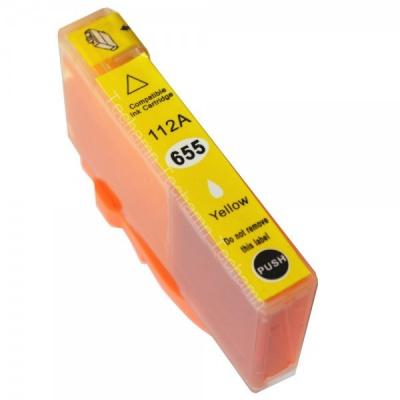 HP 655XL CZ112A sárga (yellow) kompatibilis tintapatron