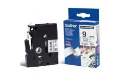 Brother TZ-N221 / TZe-N221, 9mm x 8m, fekete nyomtatás / fehér alapon, eredeti szalag