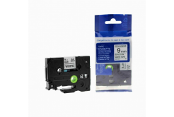 Brother TZ-S221/TZe-S221 9mm x 8m erősen ragadó, fekete nyomtatás / fehér alapon, kompatibilis szalag