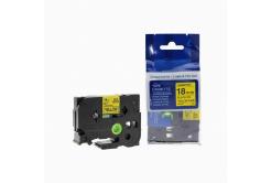 Brother TZ-641 / TZe-641, 18mm x 8m, fekete nyomtatás / sárga alapon, kompatibilis szalag