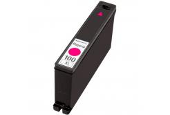 Lexmark 100XL 14N1070 bíborvörös (magenta) kompatibilis tintapatron