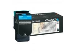 Lexmark C544X2CG cián (cyan) eredeti toner