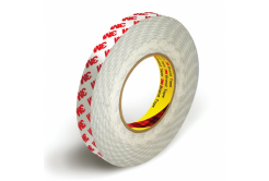 3M 9088-200 Kétoldalas ragasztószalag, 19 mm x 25 m, tl. 0,20 mm (piros logo)