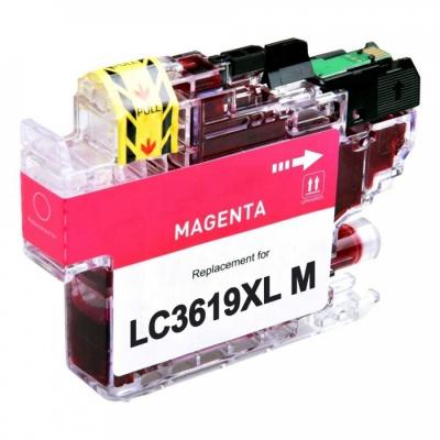 Brother LC-3619XL bíborvörös (magenta) kompatibilis tintapatron