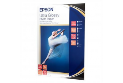 Epson S041927 Ultra Glossy Photo Paper, fotópapírok, fényes, fehér, 13x18cm, 300 g/m2, 15 db