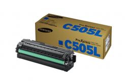 HP SU035A / Samsung CLT-C505L cián (cyan) eredeti toner