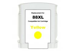 HP 88XL C9393A sárga (yellow) utángyártott tintapatron