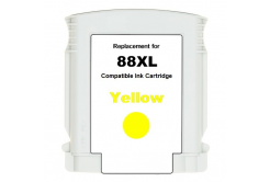 HP 88XL C9393A sárga (yellow) kompatibilis tintapatron