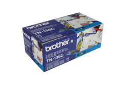 Brother TN-135C cián (cyan) eredeti toner
