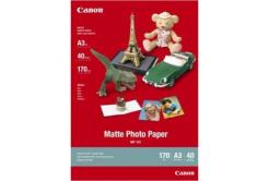Canon MP-101 Matte Photo Paper, fotópapírok, matt, fehér, A3, 170 g/m2, 40 db, tintasugaras nyomtatás