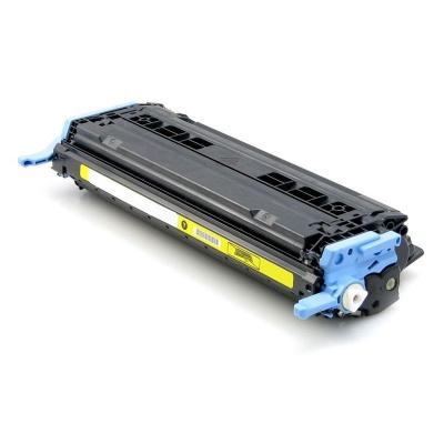 HP 124A Q6002A sárga (yellow) kompatibilis toner