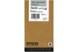 Epson C13T603900 világos világos fekete (light light black) eredeti tintapatron