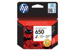 HP 650 CZ102AE színes (color) eredeti tintapatron