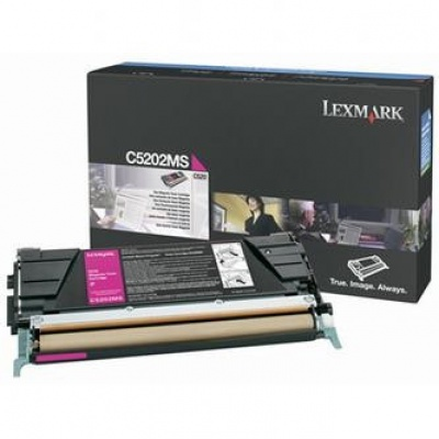 Lexmark C5202MS bíborvörös (magenta) eredeti toner