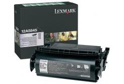 Lexmark 12A5845 fekete (black) eredeti toner