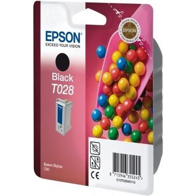 Epson T028401 fekete (black) eredeti tintapatron