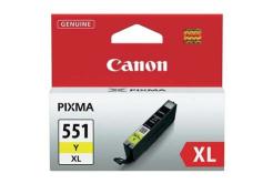 Canon CLI-551XLY sárga (yellow) eredeti tintapatron