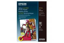 Epson S400035 Value Glossy Photo Paper, fehér fényes fotópapírok, A4, 200 g/m2, 20 db