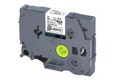 Brother TZ-SE2 / TZe-SE2, 9mm x 8m, fekete nyomtatás / fehér alapon, biztonság, kompatibilis szalag