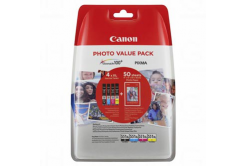 Canon eredeti tintapatron 6443B006, CLI-551XL C/M/Y/BK Photo Value Pack, CMYK, blistr, Canon Pixma iP7250,iP8750,iX6850,MG5450,MG5550,M