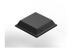 3M Bumpon SJ5008 fekete, plató = 80 db