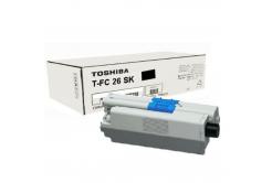 Toshiba TFC26SK, 6B000000559 fekete (black) eredeti toner