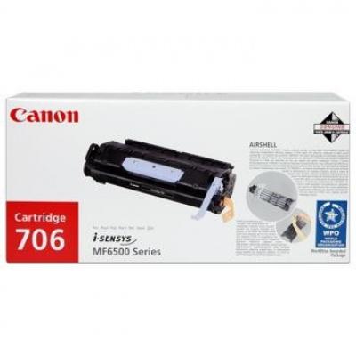 Canon CRG-706 fekete (black) eredeti toner