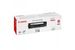 Canon CRG-718 bíborvörös (magenta) eredeti toner