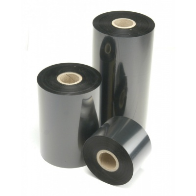 TTR szalagok gyanta (resin) 81mm x 74m OUT fekete