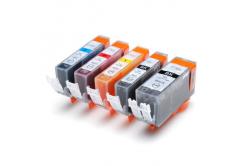 Canon CLI-521 Bk, C,M,Y + PGI-520Bk multipack kompatibilis tintapatron