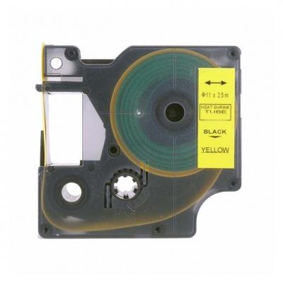 Dymo 18058, S0718340, 19mm x 1, 5m fekete nyomtatás / sárga alapon, kompatibilis szalag