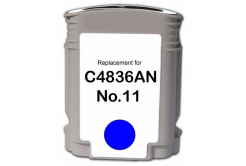 HP 11 C4836A cián (cyan) kompatibilis tintapatron