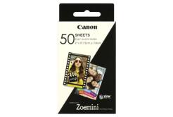 """Canon ZP-2030 3215C002 öntapadó fotópapírok ZINK 50x76mm (2x3""""), 50 db, thermo"""